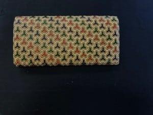 pattern: 更紗技法 毘沙門亀甲