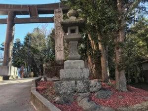 筒口神社 鳥居