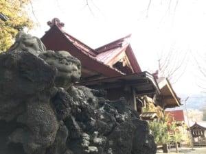 筒口神社 狛犬