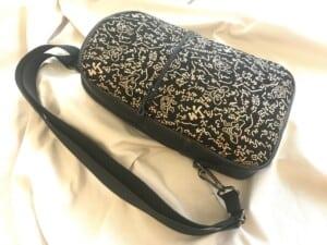 Sling bag : pattern すずめ踊り